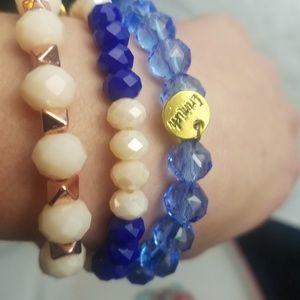 Set of 8 Erimish bracelets Brand New